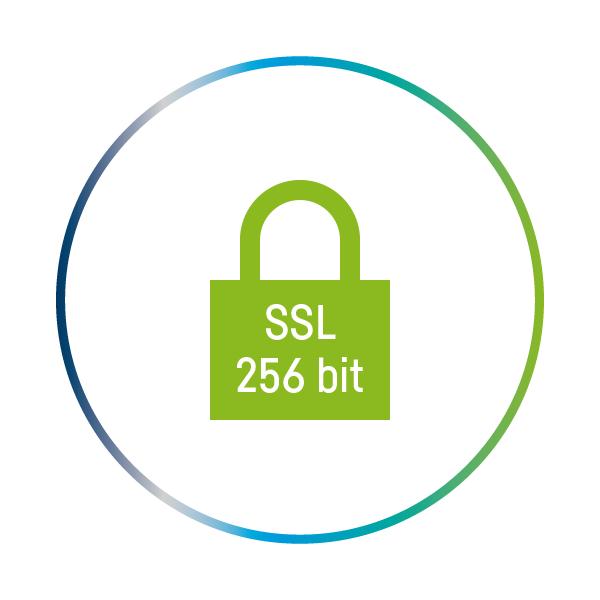 SSL 256 bit verschlüsselt